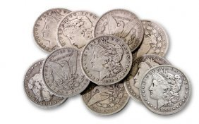 Lot Of 10- Morgans From Cache