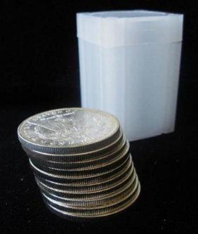 Roll Of 20 Morgan SIlver Dollars- Random Dates
