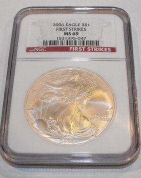 2006 MS 69 First Strikes  NGC ASE