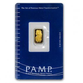 1 Gram Pamp Suisse Ingot