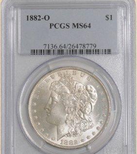 1882-O Morgan $ MS64 PCGS