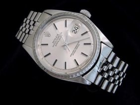 Man's Rolex Stainless Steel Datejust Watch