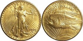 1925 $20 Saint Gauden's Double Eagle