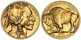 2010 Us Gold Buffalo 1 Oz 24k Bullion