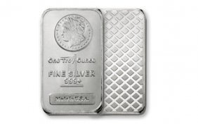 1 Troy Oz. Morgan Design Silver Bar (1)
