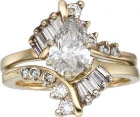 Diamond, Gold Ring Set