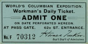 World�s Columbian Exposition: Workman�s Daily