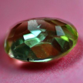 2.81Cts ~NATURAL GREEN SILIMINATE ~Flawless