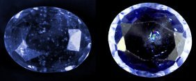 3.15 Cts~Natural UNHEAT SAPPHIRE  Blue