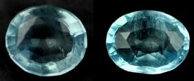 .99 Rare Natural Acuamarine From Brazil ~