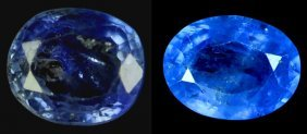 2.24  Cts~Natural UNHEAT SAPPHIRE  Blue