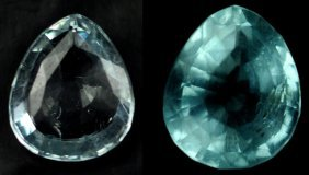 6.14 Rare Natural Acuamarine From Brazil ~