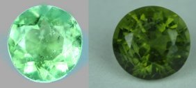 0.57 Cts~ Natural Hot  Green Tourmaline