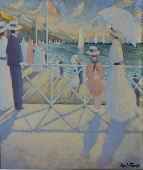Frans Paul (French 1958) �Deauville�