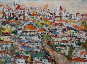 Ilse Jacob (Israeli 20th Century) �View Of Jerusale