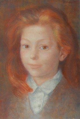 Moretti Lucien Phillippe (French 1922-2000)  �Portr