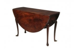 American Queen Anne Dining Table - Important Long Oval