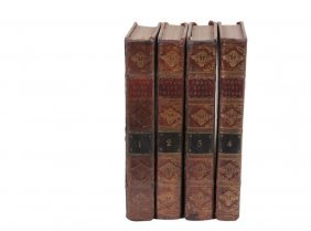 "(4 Vol Set) Cook's Voyages - Second Edition ""a Voyage"