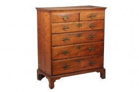 American Chippendale Chest - New England Gentleman's