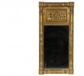 Federal Period Mirror - Fine Quality Entry Looking