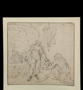 Gerard De Lairesse (1640-1711) - Salome Beheading John