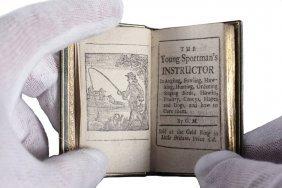 Extremely Rare Miniature Book - Markham, Gervase; Circa