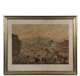 """After George Northouse (uk, - 1844) - """"boston, May"""
