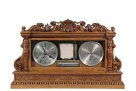 Victorian English Weather Station - Ornate Carved