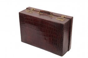 Asprey Of London Gent's Travel Case - Fine Quality