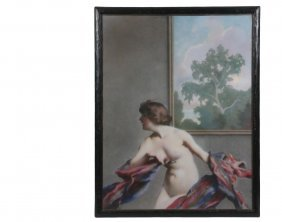 Will Rowland Davis (ma/me, 1879-1944) - Nude Dancing