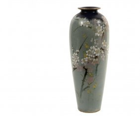 Doulton Burslem Vase - Stem Vase In The Japanese Style,