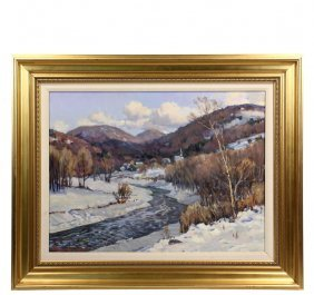 "Stapleton Kearns (ma/me, 1952 - ) - ""river Valley In"