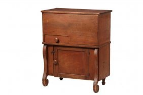 Pine Lift-top Commode - Country Empire Design, Having A