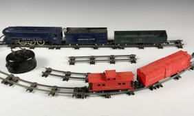 Toy Train Set - 1948 Gilbert 'american Flyer' S Gauge