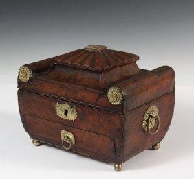 Fine Regency Jewelry Box - Lady's Keepsake Sarcophagus