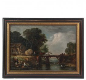 Dutch Genre Painting - Late 18th To Early 19th C.