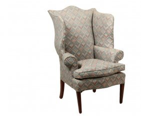 Period Wingchair - Hepplewhite Mahogany, Early 19th C,