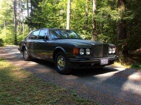 Automobile - 1992 Bentley Turbo Rl, 4-dr Saloon Vin #
