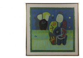 Tony David Ortega (co/nm/mex, 1958 - ) - Untitled,