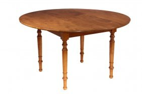 Country Maple Dining Table - Tiger Maple Replica By