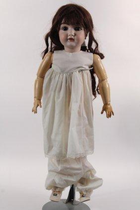 "31"" Kestner 146 Bisque Doll - Early 1900s German Bisque"
