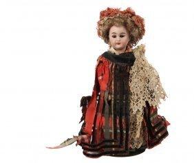 S&c Bisque Head Doll - Schmidt & Co. Bisque Head