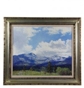 "James Emery Greer (ri/co, 1948-1990) - ""longs Peak"","
