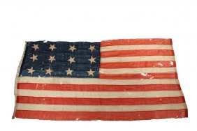 Civil War Union Field Flag - Twelve Star Flag, Entirely