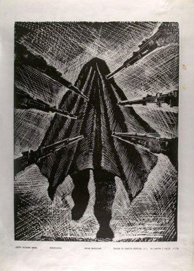 JESUS ALVAREZ AMAYA - Xylograph