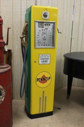 """Restored Dayton 1420 """"cash Computer"""" Pennzip Pump."""