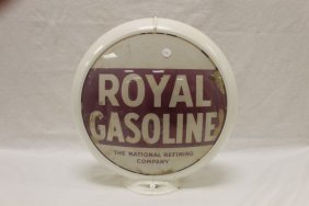 Royal Gasoline The National Refining Company 3-piece