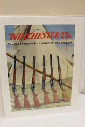 Winchester 22s Advertising Poster