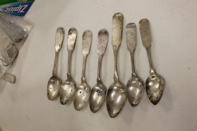 Coin Silver Spoons