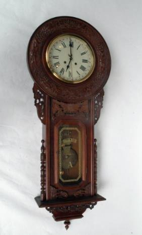 Regulator Wall Clock, Circa 1960